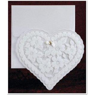 BASTELSETS / CRAFT KITS Exclusieve Edele hart kaarten met folie en glitter