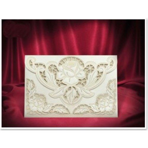 BASTELSETS / CRAFT KITS NOUVEAU: Exclusive Edele roses de crème enveloppe cartes