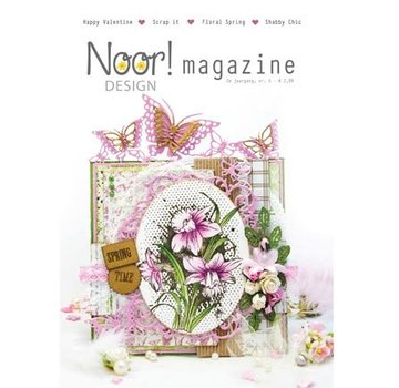 Bücher, Zeitschriften und CD / Magazines Noor Designer Magazine Nr.6 - tilbage på lager