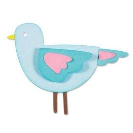 Sizzix Stempling og prægning stencil, ThinLits - Sweetie Bird