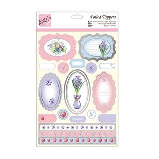 Bilder, 3D Bilder und ausgestanzte Teile usw... Luksus A4 cut ark, etiketter og bouquet