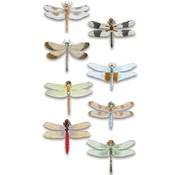 Embellishments / Verzierungen Lusso 3D autoadesivo libellula, dimensionale