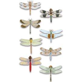 Embellishments / Verzierungen Lujo 3D pegatina libélula, dimensional