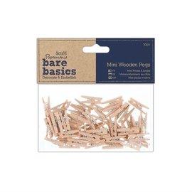 Embellishments / Verzierungen Soportes miniatura de madera (50p)