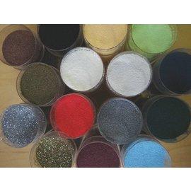 FARBE / STEMPELKISSEN Embossingspulver, en krukke 28 ml, valg av mange farger