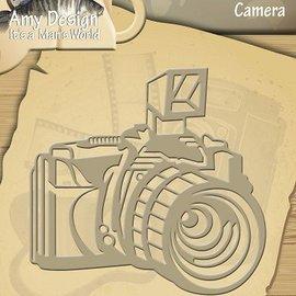 AMY DESIGN AMY DESIGN, Taglio e goffratura stencil Fotocamera