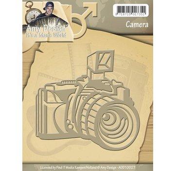 AMY DESIGN AMY DESIGN, Skæring og prægning stencils Kamera