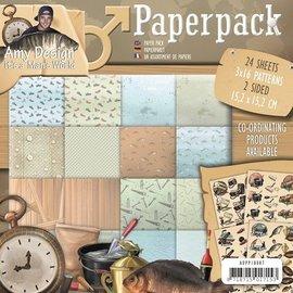 AMY DESIGN AMY DESIGN, Paperpack af Amy Design, Men's World - tilbage på lager!