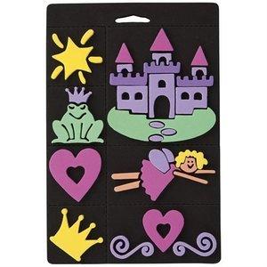 Kinder Bastelsets / Kids Craft Kits Moosgummi-Stempel Set, Prinzessin, für Kindern