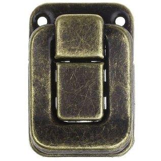 Embellishments / Verzierungen Scrapbook locks, 2 pieces, 4 x 2.8cm