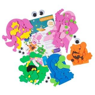 Kinder Bastelsets / Kids Craft Kits Bastelpackung: Maak je eigen, Craft Planet Monster