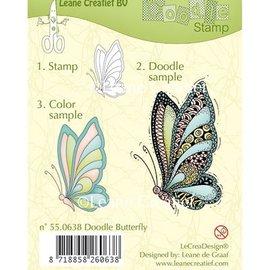 Leane Creatief - Lea'bilities und By Lene Transparent Stempel, Leane Creativ, Schmetterling