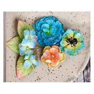 Prima Marketing und Petaloo Prima Bloemen, bloemen met bladeren, 9 stuk, 02:54 - 7cm