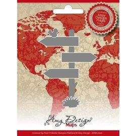 AMY DESIGN AMY DESIGN, Cutting en embossing stencils, Maps Amy Design Directory