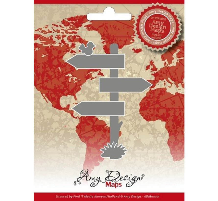 AMY DESIGN, Cutting and embossing stencils, Amy Design Maps Directory