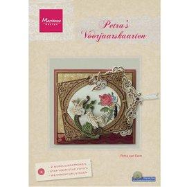 Bücher, Zeitschriften und CD / Magazines Magazine, di Petra Primavera Card da Marianne Design (NL)