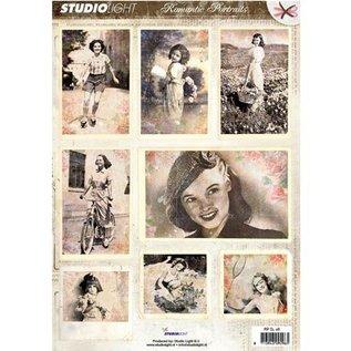 Vintage, Nostalgia und Shabby Shic Gestantzte A4 3D vel - Romantische Foto