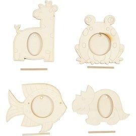 Objekten zum Dekorieren / objects for decorating 4 Rahmen, Größe 10x15 cm