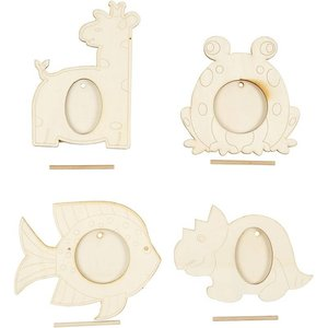 Objekten zum Dekorieren / objects for decorating 4 frame, afmeting 10x15 cm
