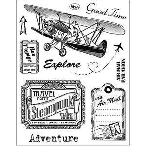 VIVA DEKOR (MY PAPERWORLD) Clear stamps, Aventure