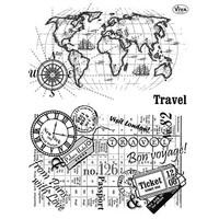 francobollo trasparente, Viaggi
