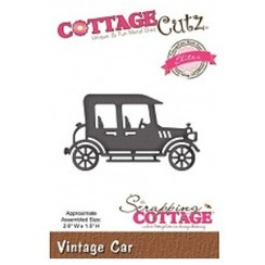 Cutting and embossing stencils, CottageCutz, Vintage Car