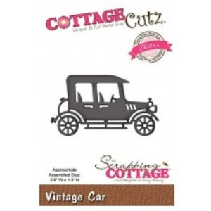 Cottage Cutz Stanz- und Prägeschablonen, CottageCutz, Vintage Car