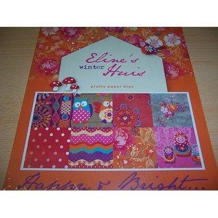 Karten und Scrapbooking Papier, Papier blöcke Pretty Papers - A4 - Eline's winter Huis