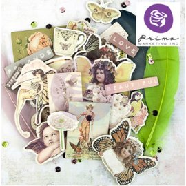 "Prima Marketing und Petaloo Chipboard Stickers, collection ""Butterfly"""