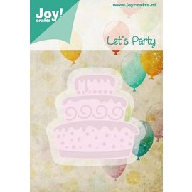 Joy!Crafts / Jeanine´s Art, Hobby Solutions Dies /  Stempelen en Party embossing stencil sjabloon Laten we