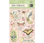 Embellishments / Verzierungen Ornaments, embellishments, 12 parts