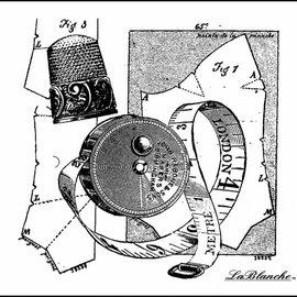 LaBlanche Lablanche Stamp: Collection cucire