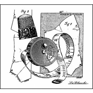 LaBlanche LaBlanche Stamp: Sewing Collection