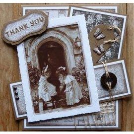 Nellie Snellen Decoupage A4 ark, vintage frikvarter