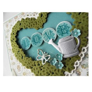 Marianne Design 2 cutting and embossing stencils Marianne Design + stamp 32 letters