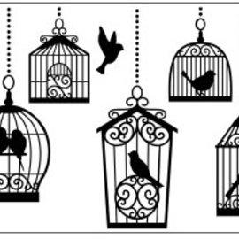 DARICE Carpetas de repujado, jaulas de pájaros 10,8x14,6cm