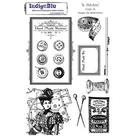 IndigoBlu A5 Sello: In Stitches, 200x140mm