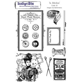 IndigoBlu Stempel A5: In Stitches, 200x140mm