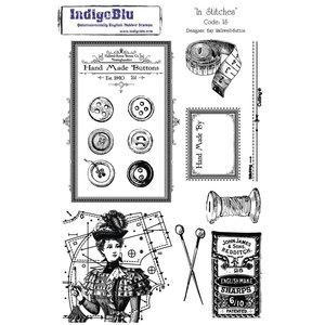 IndigoBlu Stempel A5: sømme, 200x140mm