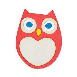 Sizzix Stempling og prege sjablong, ThinLits - Little Owl