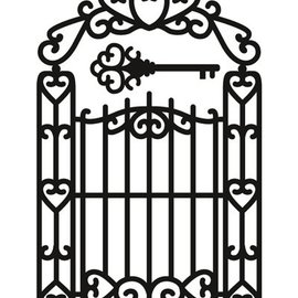 Marianne Design Couper et gaufrer pochoirs, Craftables - Garden Gate