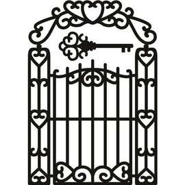 Marianne Design Skæring og prægning stencils, Craftables - Garden Gate
