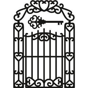 Marianne Design Cutting and embossing stencils, Craftables - Garden Gate
