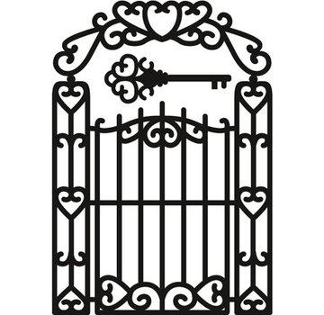 Marianne Design Stanz- und Prägeschablonen, Craftables - Garten Gate