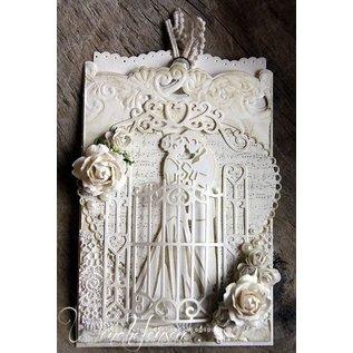 Marianne Design Taglio e goffratura stencil, craftabili - Garden Gate