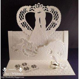 Marianne Design Cutting en embossing stencils Creatables - bruidspaar