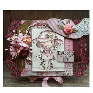 Joy!Crafts / Jeanine´s Art, Hobby Solutions Dies /  Joy Crafts, Stamping and Embossing, Hat