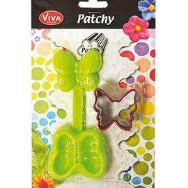 PATCHY Fragmentarisch vlinder met 1 punch