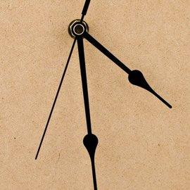Zeiger, 110 mm schwarz