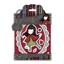 Gorjuss / Santoro Stamp urbain (10 parties), Gorjuss Little Red